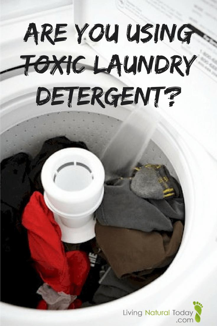 no toxic laundry detergent