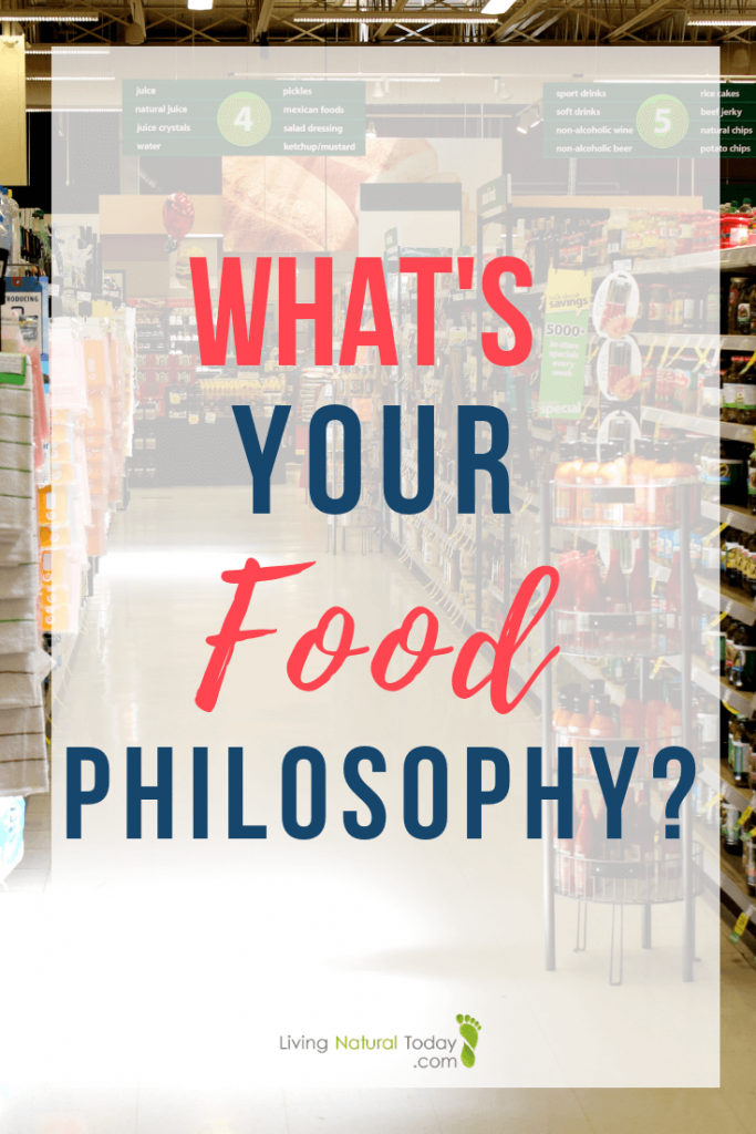 your food philosophy