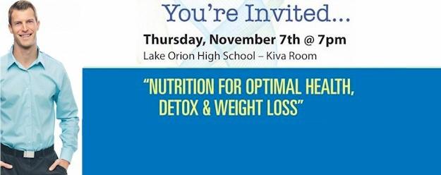 Metro Detroit Event Nutrition For Optimal Health Detox