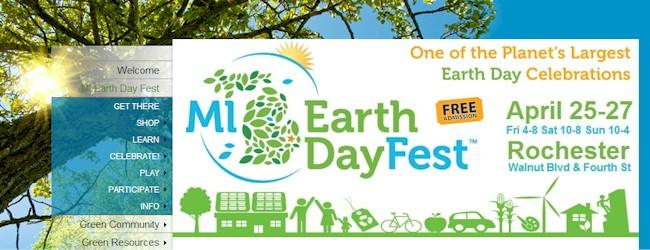 MI Earth Day Fest in Metro Detroit