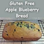 Gluten-Free, Refined Sugar-Free Apple Blueberry Bread Recipe
