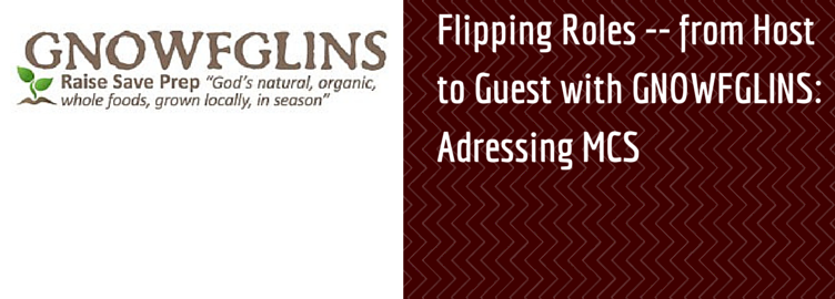 Flipping Roles — from Host to Guest with GNOWFGLINS: Adressing Multiple Chemical Sensitivities