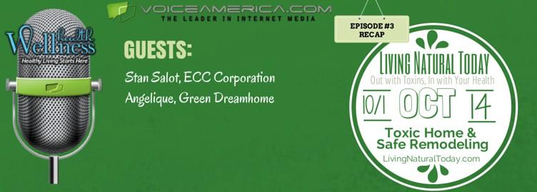 Toxic Home & Safe Remodeling: Radio Episode #3 Recap