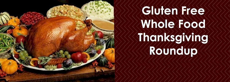 Whole Food Gluten Free Thanksgiving Recipes