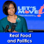 Real food and politics