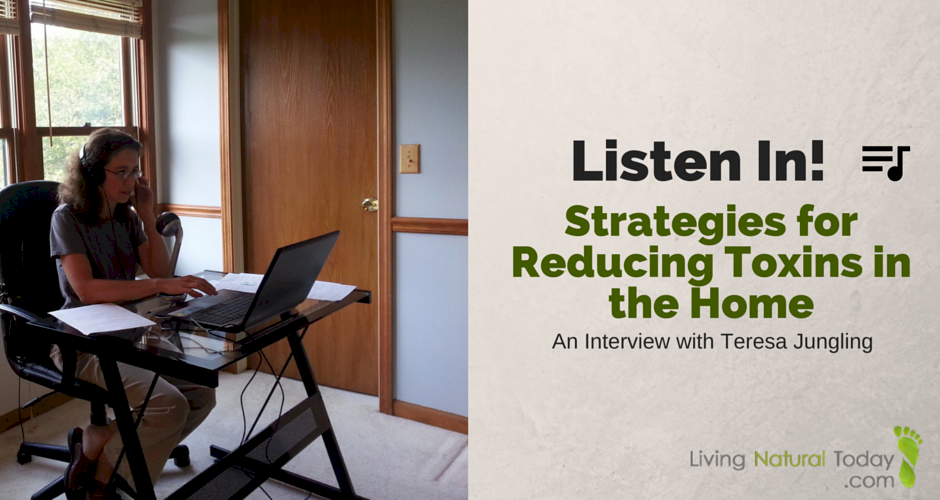 Listen in! Strategies for Reducing Toxins in the Home — An Interview