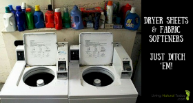 Toxic Fabric Softeners and Dryer Sheets – Just Ditch 'Em!