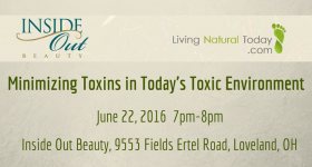 Event: Minimizing Toxins at Inside Out Beauty
