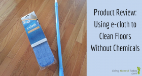 Product Review: Using an e-cloth Mop to Clean Floors Without Chemicals