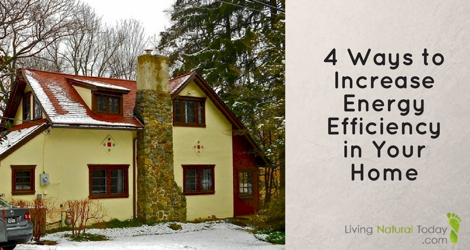 increase energy efficiency in your home