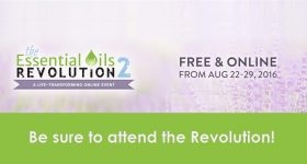 Essential Oils Revolution 2: Be Sure to Register for this Online Summit!
