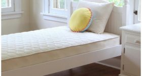 Naturepedic Organic Quilted Deluxe 1-Sided Twin Mattress