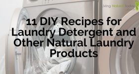 11 DIY Recipes for Laundry Detergent and Other Natural Laundry Products