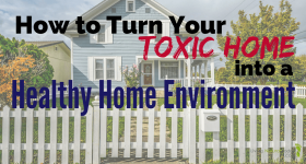 How to Turn Your Toxic Home into a Healthy Home Environment