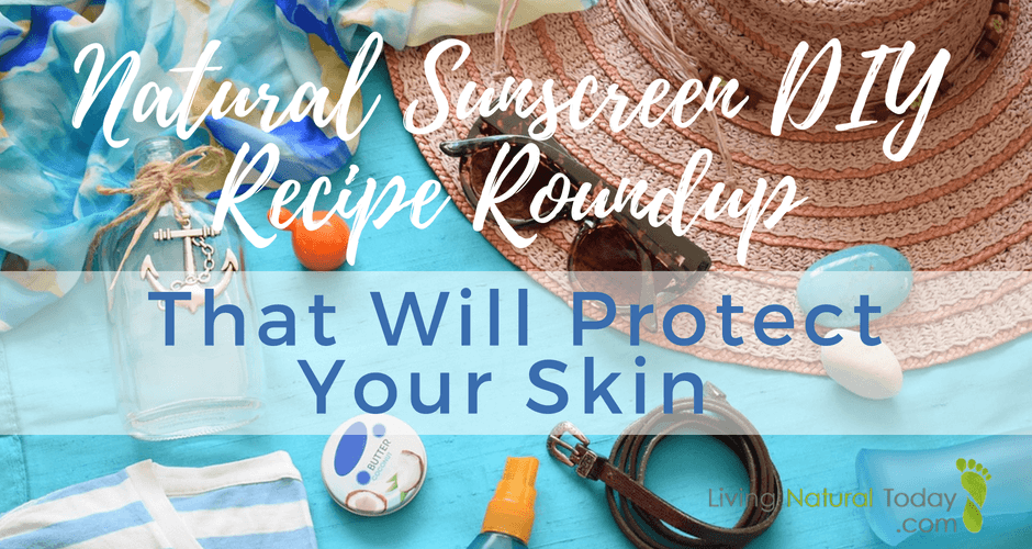 homemade natural sunscreen recipes