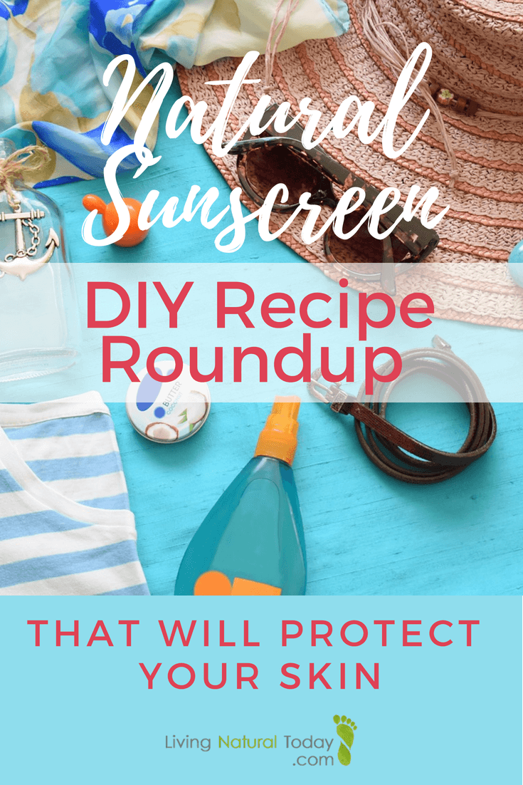 natural sunscreen diy recipe