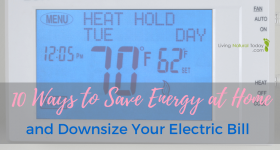 10 Ways to Save Energy at Home and Downsize Your Electric Bill