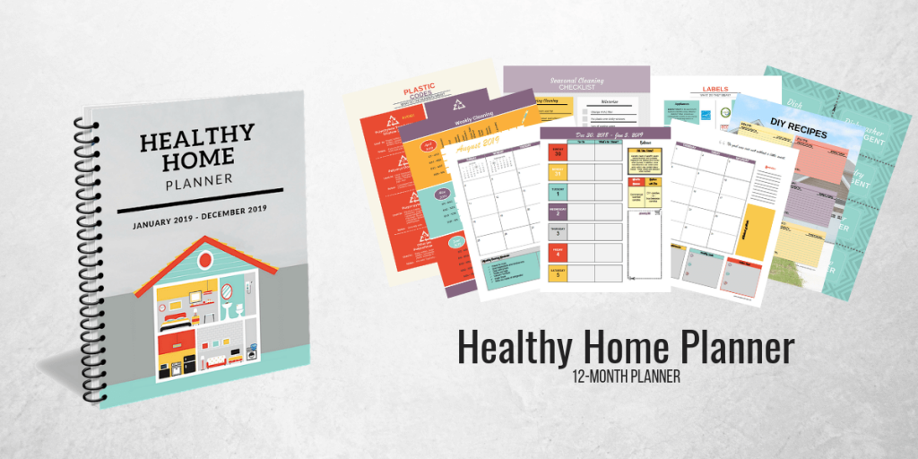 healthy home planner banner