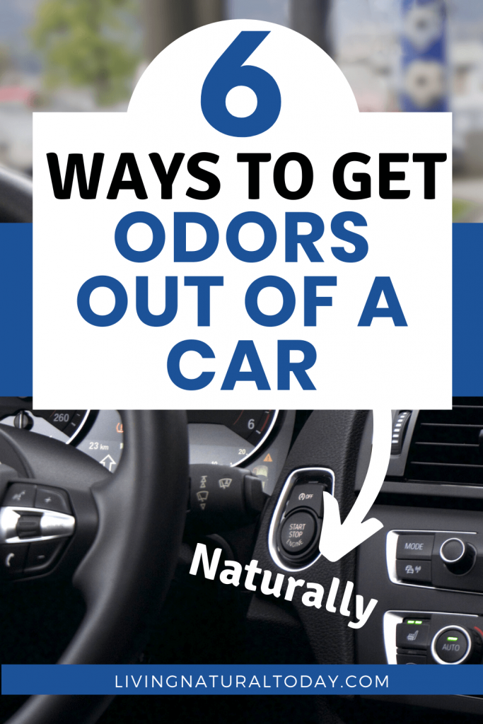 how to get odors out of car