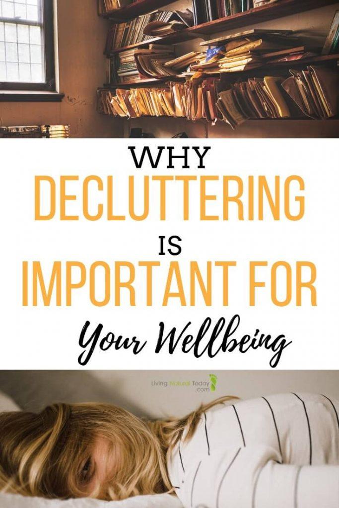 decluttering benefits