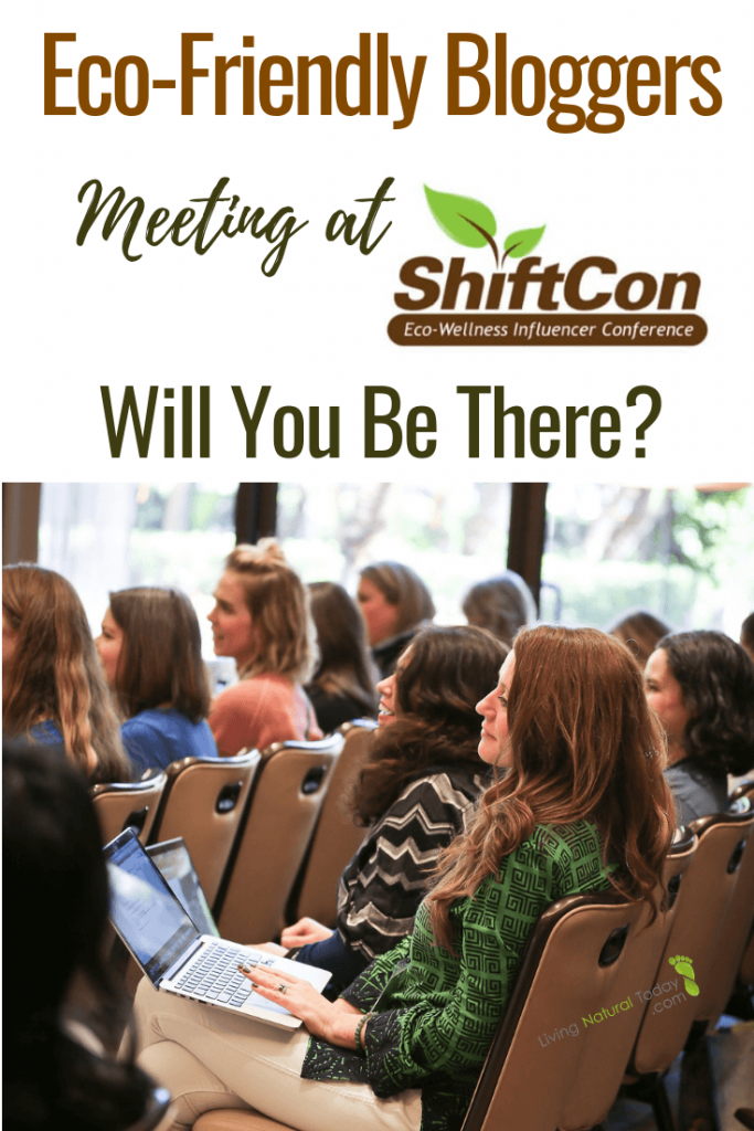 eco friendly bloggers at shiftcon