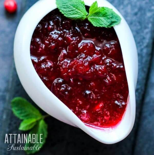 gluten free cranberry sauce