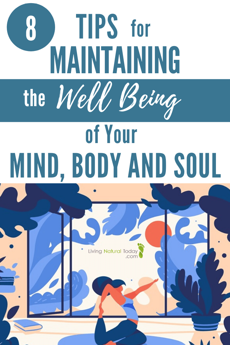 well being of mind, body, soul