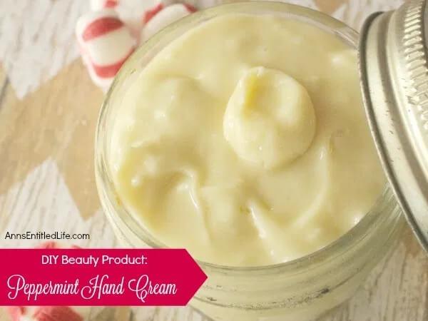 DIY hand cream