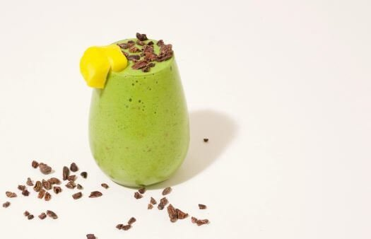 wheatgrass smoothie