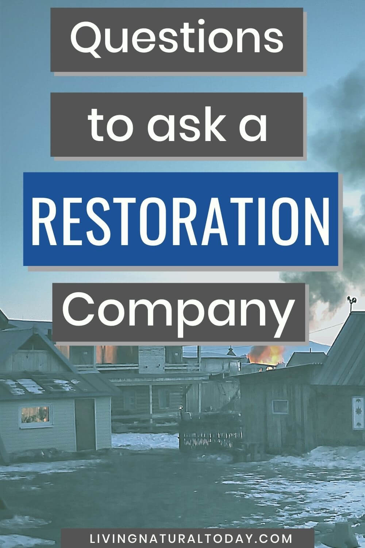 restoration company