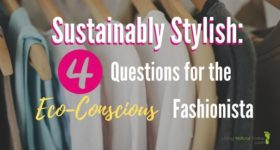sustainably stylish